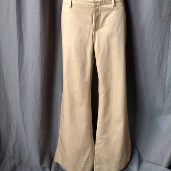 Balenciaga Other - Balenciaga Bell Bottom Pants Mens in Cream Denim